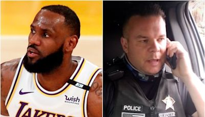 GoFundMe for police officer who mocked LeBron James hits $460k