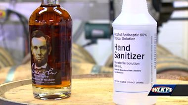 Radcliff distillery making at least 500 gallons of hand sanitizer for first responders
