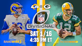 Full preview for Packers vs. Rams in NFC Divisional Round