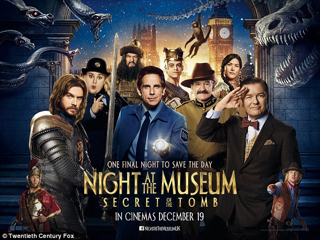 """Night at The Museum 3: Secret of the Tomb"""" Casting actors for NY ..."""