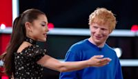 Ed Sheeran and Ariana Grande catch up with each other on 'The Voice'
