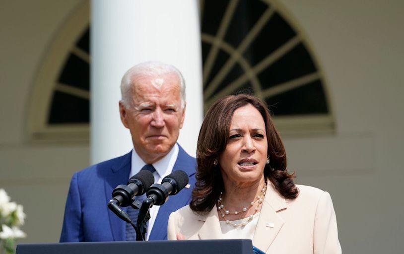 Future president? Kamala Harris now 'underwater' as sinking popularity alarms Democrats