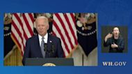 Biden Says He Respects New York Governor Andrew Cuomo's Decision to Resign