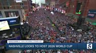 Nashville hopes the NFL Draft proves they're ready to host the 2026 FIFA World Cup