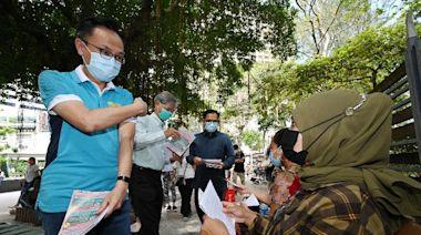 在港印尼人士響應外展新冠疫苗接種(附圖)