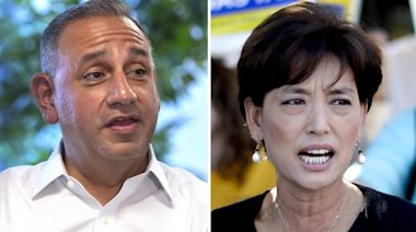Gil Cisneros and Young Kim spar in rematch to represent 39th Congressional district