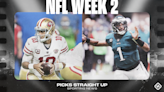 NFL picks, predictions for Week 2: 49ers run over Eagles; Bengals, Colts, Giants keep upsets coming
