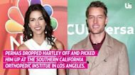 Two's Company! Justin Hartley Has Chill Hangout With Girlfriend Sofia Pernas