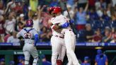 Phillies win wild one on passed ball in 9th; top Cubs 6-5