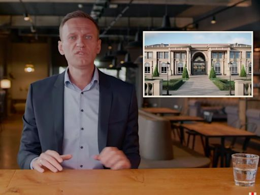 Jailed Russian critic Alexei Navalny released a video accusing Putin of secretly building a $1 billion coastal palace funded through bribes