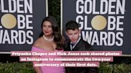 Priyanka Chopra shared the cutest picture from her first date with Nick Jonas