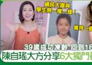 39歲陳自瑤6大獨門凍齡養生小習慣 | 養顏養生 | Sundaykiss 香港親子育兒資訊共享平台