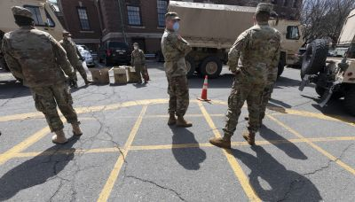 Massachusetts activates National Guard — to drive school buses