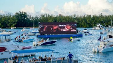 Miami's floating movie theater is back, and this time you don't even need a boat