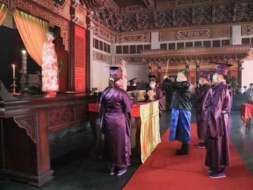 台中孔廟祭孔大典線上直播 遵循三獻古禮尊師重道 | 台灣好新聞 TaiwanHot.net
