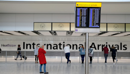 Travel to UK: England dropping pre-departure testing requirement for vaccinated travelers from non-red countries