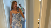 'Simply beautiful lady': Sofia Vergara stuns fans (and her husband!) in $335 floral dress