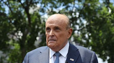 Caught in shocking 'Borat 2' bedroom scene with young woman, Rudy Giuliani claims he's the victim: 'Everybody in Hollywood hates me'