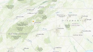 Earthquake reported in NC mountains just outside Asheville