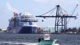 1st cruise ship to sail from US as industry seeks comeback