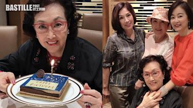 女神相聚為前輩預祝88歲生日 林青霞大讚:葛蘭姨最漂亮   娛圈事
