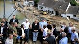 Merkel Visits Flood Region as Toll Continues to Mount