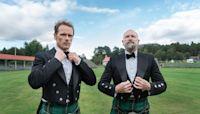 'Outlander' Star Sam Heughan Dances His Way Around Scotland in 'Men in Kilts'