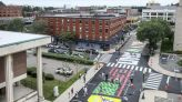 After 'long struggle' by two teens, a mural for Black Lives Matter is painted in Lynn - The Boston Globe