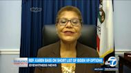 LA-based Rep. Karen Bass talking up her shot at Biden's VP slot