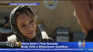 Maria Bello Bids Farewell To 'NCIS'