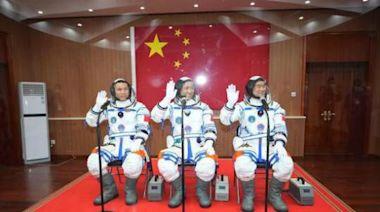 歷史時刻!中國人首次進入了自己的空間站!