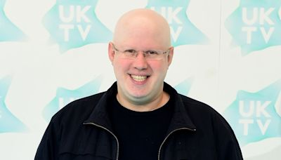 Matt Lucas grows first ever moustache after losing his hair as a child