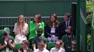 Kate Middleton visits Wimbledon