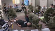 Mass Casualty Simulation Helps Nat'l Guard, Children's Minnesota Practice Treating Kids