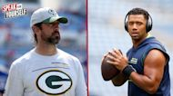 Marcellus Wiley explains why Russell Wilson is under more pressure this season than Aaron Rodgers I SPEAK FOR YOURSELF