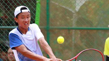 最棒18歲生日禮物 善化高中張子隸網球男單奪金