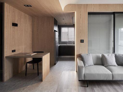 一個人生活也很精彩,台北木系住宅開啟生活多元向度
