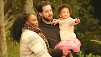 Serena Williams & Daughter Olympia, 3, Twin In White Swimsuits & Capes At The Beach