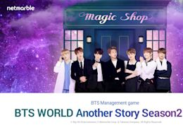 《BTS WORLD》出三月更新!防彈少年團拜訪Magic Shop