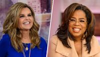 Oprah Winfrey and Maria Shriver on their over 40 years of friendship