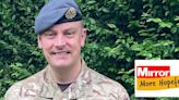 Heart-warming moment RAF dad surprises his children after four months away
