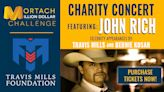 Dave Mortach to sponsor John Rich in concert with guest appearances by Travis Mills & Bernie Kosar