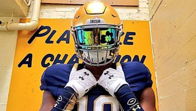 Recruiting Notebook: Elite 2023 DE Jayden Wayne Checks Out Notre Dame