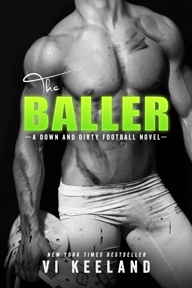 The Baller by Vi Keelan ~★Cover Reveal★~ | Only One More Page