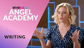 ANGEL ACADEMY with Elizabeth Banks | Lessons on Writing | WHOHAHA