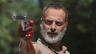 'The Walking Dead' universe chief says the Rick Grimes' movie will 'be amazing' and thinks the final season of 'TWD' may be split into 3 parts