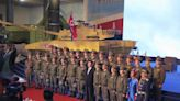 North Korean soldier in blue generates buzz on social media