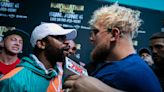 Jake Paul Scuffles With Floyd Mayweather During Brother Logan's Pre-Fight Press Conference