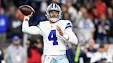 Cowboys' Dak Prescott downplays calf injury, walking boot, MRI: 'Have fun with it this week'