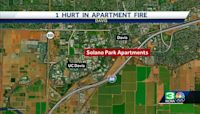 One person hospitalized after UC Davis apartment fire